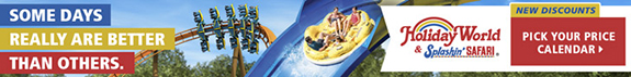 Holiday World Pick Your Price Ticket