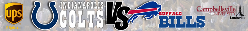 Indianapolis Colts VS Buffalo Bills